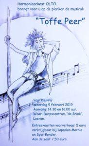 Musical Toffe Peer @ Dorpscentrum De Brink